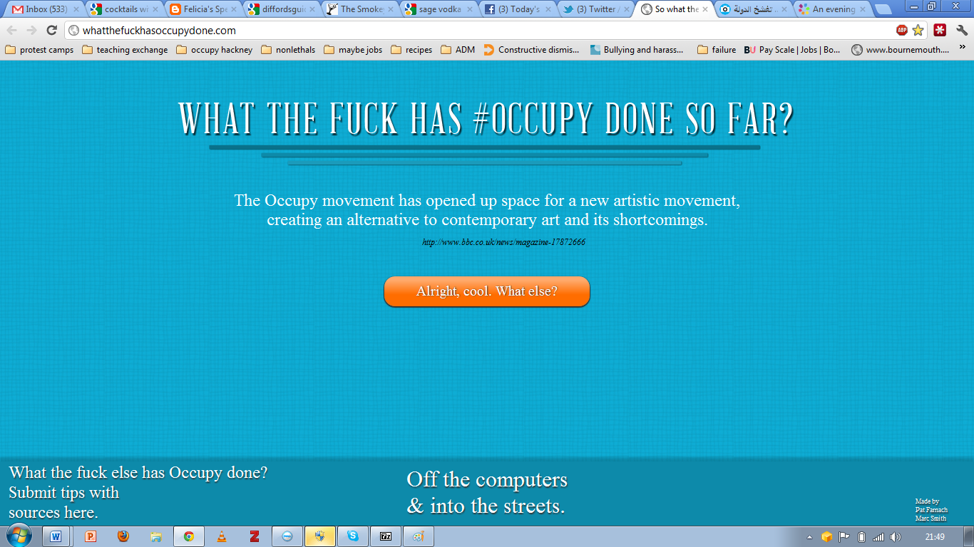 wtf occupy done_artists movement